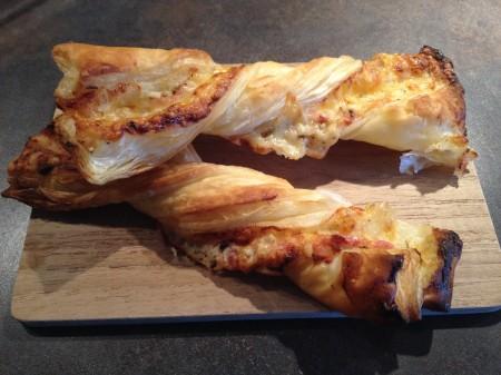 Schinken-Käse-Stangen
