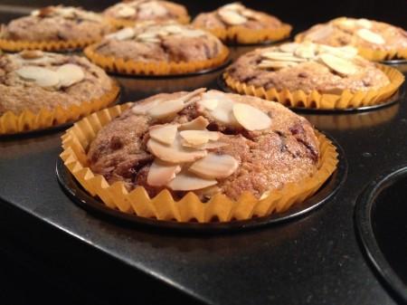 Vollkornmuffins mit Nüssen