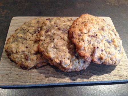 Nuss-Bananen-Cookies