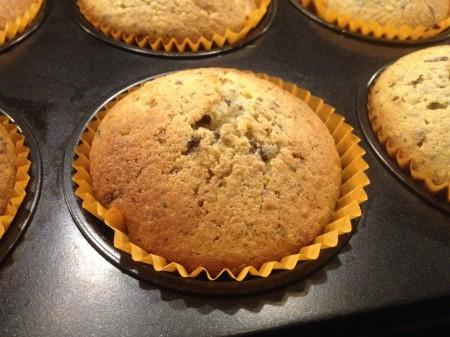 Haselnuss-Stracciatella-Muffins